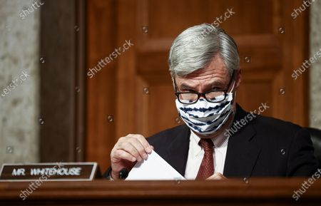 Editorial image of Senate Judiciary Facebook Twitter Hearing, Washington, USA - 17 Nov 2020