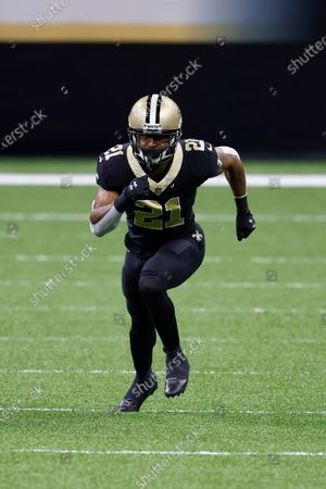 New Orleans Saints cornerback Patrick Robinson (21) during an NFL football game against the San Francisco 49ers, in New Orleans
