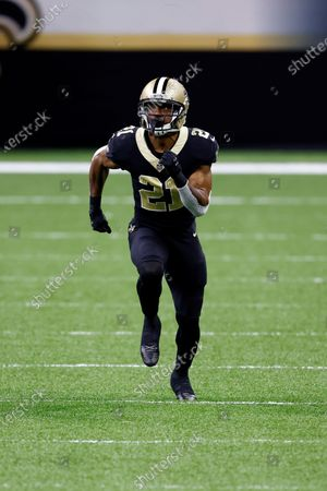 Stock Picture of New Orleans Saints cornerback Patrick Robinson (21) during an NFL football game against the San Francisco 49ers, in New Orleans
