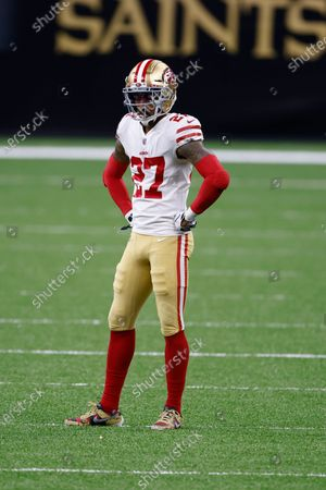 Editorial photo of 49ers Saints Football, New Orleans, United States - 15 Nov 2020