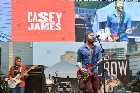 Casey James performs in concert during the River and Blues Festival