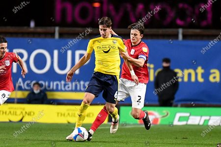 Editorial photo of Oxford United v Crewe Alexandra, EFL Sky Bet League 1 - 17 Nov 2020