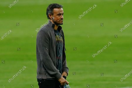 Spain manager Luis Enrique Martinez