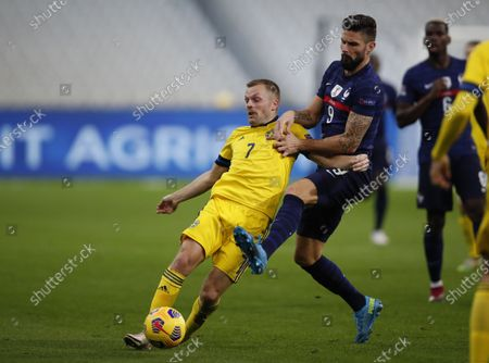 Editorial picture of Sweden Nations League Soccer, Paris, France - 17 Nov 2020