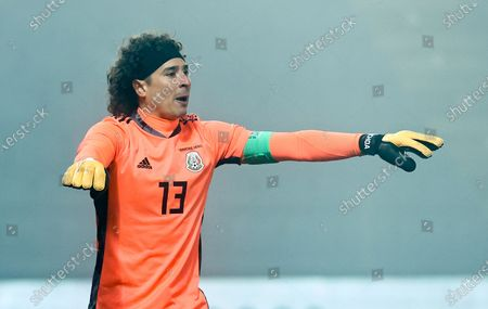 Goalkeeper Guillermo Ochoa of Mexico during the international friendly soccer match between Japan and Mexico in Graz, Austria, 17 November 2020.