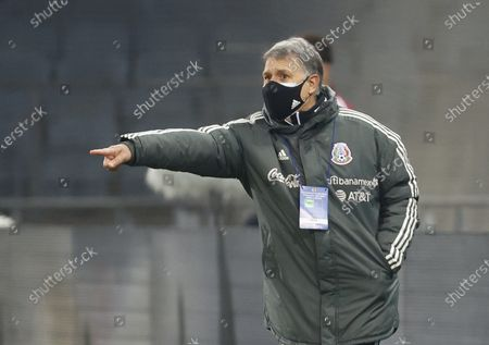 Stock Photo of Head coach Gerardo Martino of Mexico
