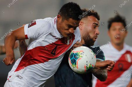 Editorial photo of Peru vs Argentina, Lima - 18 Nov 2020