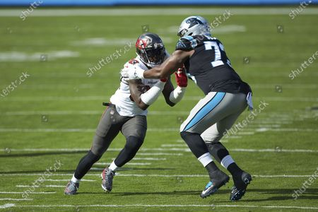 Editorial image of Buccaneers Panthers Football, Charlotte, United States - 15 Nov 2020