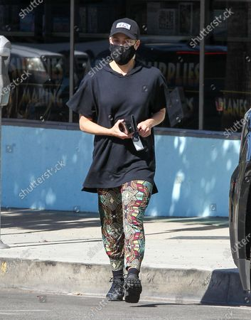 Editorial picture of Peta Murgatroyd out and about, Los Angeles, USA - 17 Nov 2020