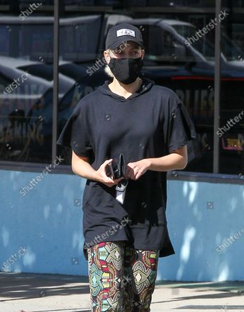 Peta Murgatroyd seen out and about