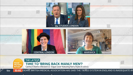 Editorial photo of 'Good Morning Britain' TV Show, London, UK - 18 Nov 2020