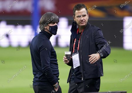Joachim Low, Manager of Germany looks on prior to the UEFA Nations League group stage match between Spain and Germany at Estadio de La Cartuja on November 17, 2020 in Seville, Spain.