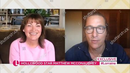 Lorraine Kelly and Matthew McConaughey