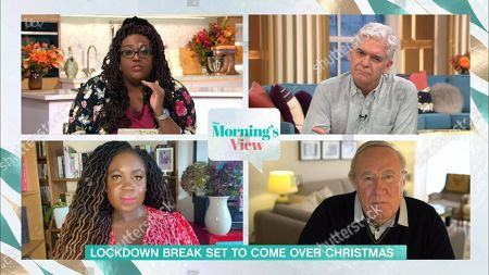 Stock Picture of Alison Hammond, Phillip Schofield, Afua Adom and Andrew Neil