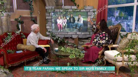 Editorial image of 'This Morning' TV Show, London, UK - 18 Nov 2020