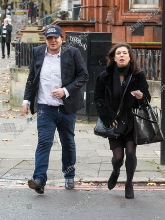 Stock Picture of James Stunt arrives at Westminster Magistrates Court this morning charged with possessing cocaine and damaging a police cell. Stunt, 38, ex-husband of F1 heiress Petra Ecclestone, is also accused of assaulting and harassing a business associate..