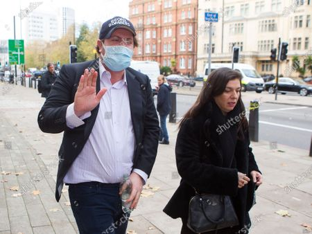 James Stunt leaves Westminster Magistrates Court this morning after appearing charged with possessing cocaine and damaging a police cell. Stunt, 38, ex-husband of F1 heiress Petra Ecclestone, is also accused of assaulting and harassing a business associate.