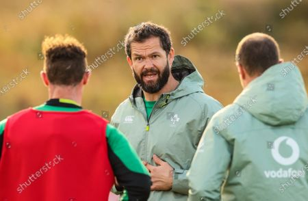 Head coach Andy Farrell