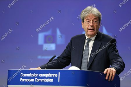 Stock Image of Paolo Gentiloni