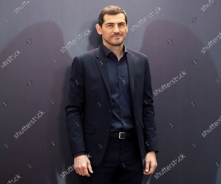 Spanish former goalkeeper lKer Casillas poses during the presentation of Movistar + documentary series 'Hang Up the Wings' in Madrid, Spain, 18 November 2020. The documentary series on Casillas' career will be released on the upcoming 27 November.