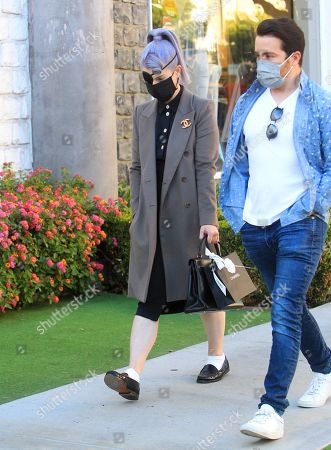 Editorial image of Kelly Osbourne out and about, Los Angeles, California, USA - 17 Nov 2020