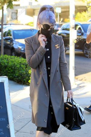 Editorial picture of Kelly Osbourne out and about, Los Angeles, California, USA - 17 Nov 2020