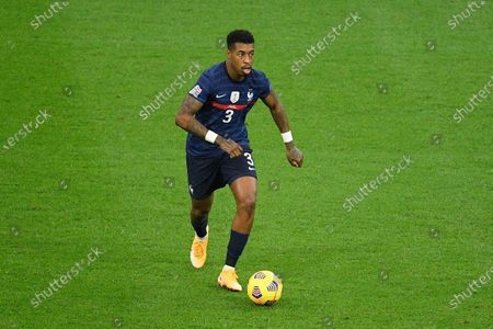 Stock Image of Presnel Kimpembe during the match between France and Sweden at the Stade de France