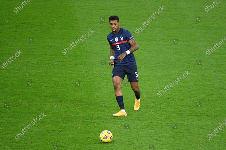 Presnel Kimpembe during the match between France and Sweden at the Stade de France