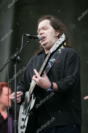 Stock Picture of Roky Erickson & the Explosives performs during day 2 of the Lollapalooza festival at Grant Park in Chicago, IL.