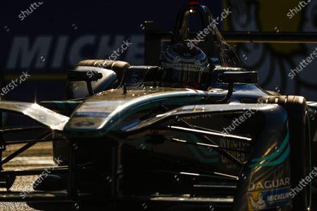 2016/2017 FIA Formula E Championship. Round 12 - Montreal ePrix, Canada Sunday 30 July 2017. Adam Carroll (GBR), Jaguar Racing, Spark-Jaguar, Jaguar I-Type 1. Photo: Sam Bloxham/LAT/Formula E