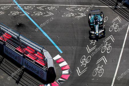 2016/2017 FIA Formula E Championship. Round 12 - Montreal ePrix, Canada Sunday 30 July 2017.Adam Carroll (GBR), Jaguar Racing, Spark-Jaguar, Jaguar I-Type 1. Photo: Sam Bloxham/LAT/Formula E