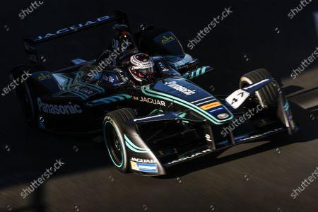 2016/2017 FIA Formula E Championship. Round 12 - Montreal ePrix, Canada Sunday 30 July 2017. Adam Carroll (GBR), Jaguar Racing, Spark-Jaguar, Jaguar I-Type 1. Photo: Malcolm Griffiths/LAT/Formula E