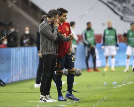Luis Enrique and Eric Garcia