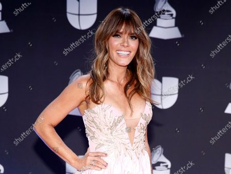 Stock Image of Kany Garcia arrives at the 20th Latin Grammy Awards in Las Vegas on . Garcia will perform at this years Latin Grammy Awards