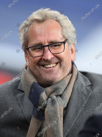 Iceland's head coach Erik Hamren smiles before the UEFA Nations League soccer match between England and Iceland at Wembley stadium in London