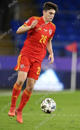 Stock Image of David James of Wales in action during the UEFA Nations League match between Wales and Finland in Cardiff, Britain, 18 November 2020.