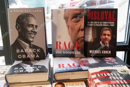 Editorial photo of Book Publishing, New York, United States - 18 Nov 2020