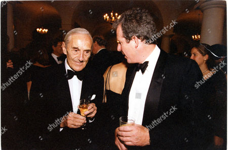 Author Patrick O'brian Pictured With William Waldegrave.