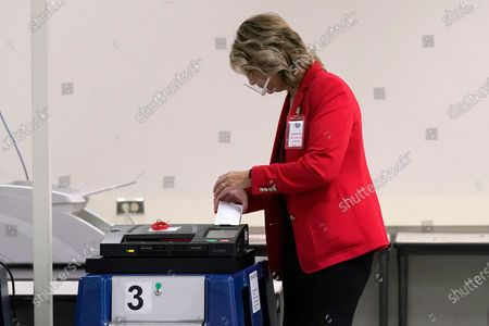 Editorial picture of Election 2020 Arizona Vote Counting, Phoenix, United States - 18 Nov 2020