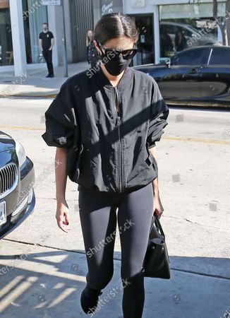 Editorial picture of Sara Sampaio out and about, Los Angeles, USA - 18 Nov 2020
