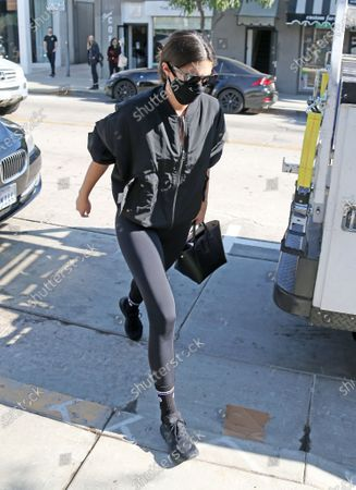 Editorial photo of Sara Sampaio out and about, Los Angeles, USA - 18 Nov 2020