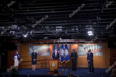 Editorial picture of Speaker of the United States House of Representatives Nancy Pelosi holds a press conference., Washington, District of Columbia, USA - 18 Nov 2020