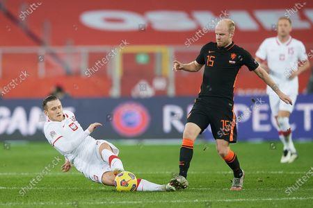 Stock Photo of Piotr Zielinski, Davy Klaassen