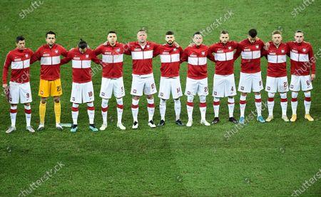 Editorial photo of Poland v Netherlands, UEFA Nations League, Chorzow, Poland - 18 Nov 2020