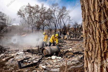 Editorial photo of California Wildfires, Mono County, United States - 18 Nov 2020
