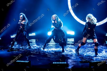 Jade Thirlwall, Leigh-Anne Pinnock, and Perrie Edwards