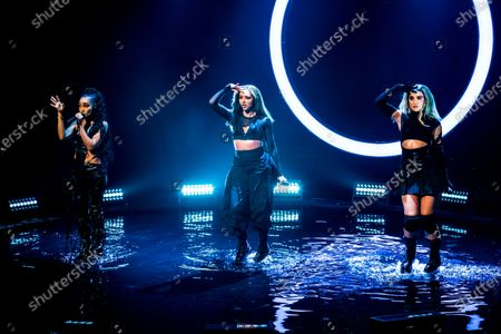 Jade Thirlwall, Leigh-Anne Pinnock and Perrie Edwards