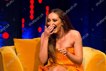 Editorial image of 'The Jonathan Ross Show' TV show, Series 16, Episode 6, London, UK - 21 Nov 2020