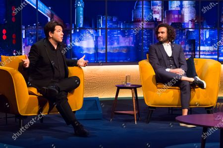 Editorial photo of 'The Jonathan Ross Show' TV show, Series 16, Episode 6, London, UK - 21 Nov 2020