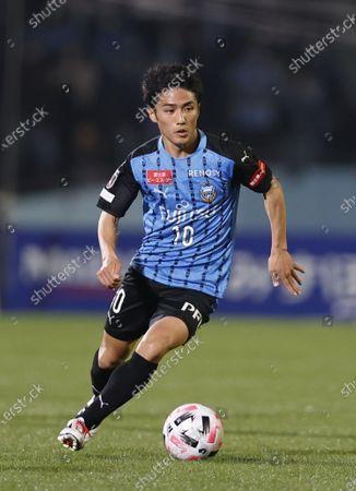 Ryota Oshima (Frontale) - Football / Soccer : 2020 J1 League match between Kawasaki Frontale 3-1 Yokohama F. Marinos at Kawasaki Todoroki Stadium, Kanagawa, Japan.